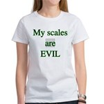My scales are evil Women's T-Shirt