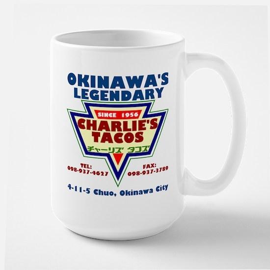 Charlie's Tacos Large Mug