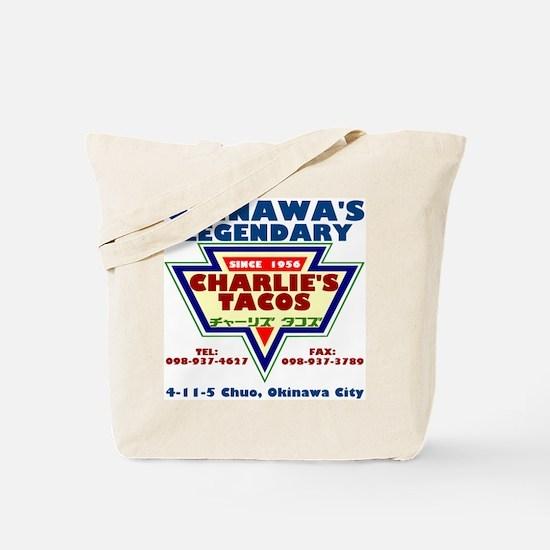 Charlie's Tacos Tote Bag