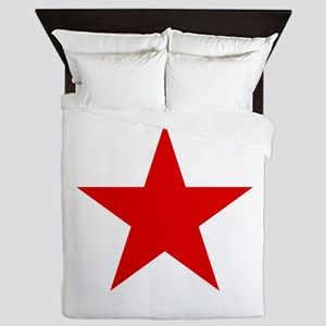 Red Star Queen Duvet