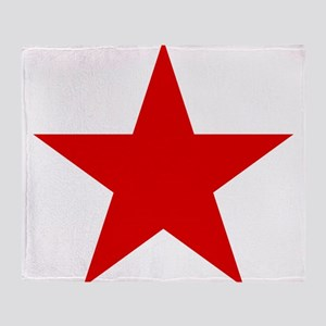 Red Star Throw Blanket
