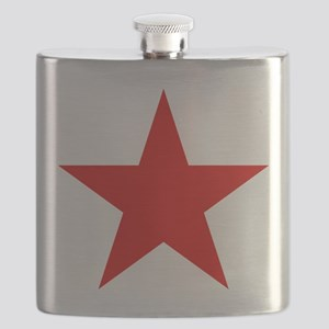 Red Star Flask