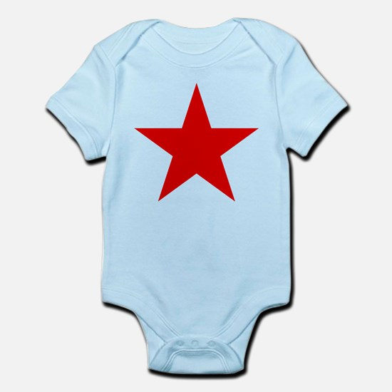 Red Star Body Suit