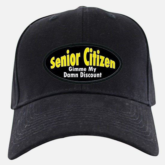 Senior Citizen Discount Baseball Hat
