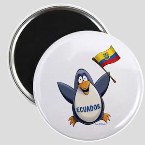Ecuador Penguin Magnet
