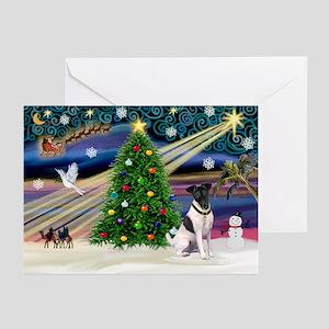 Xmas Magic & Fox T #1 Greeting Cards (Pk of 10