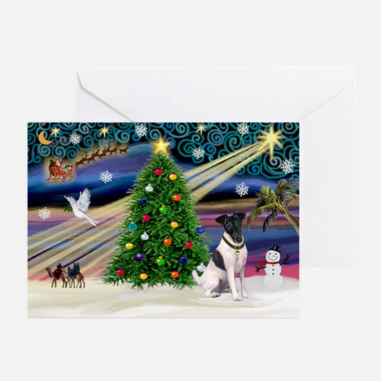 Xmas Magic & Fox T #1 Greeting Cards (Pk of 10