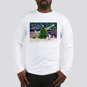 Xmas Magic & Fox T #1 Long Sleeve T-Shirt