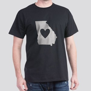 Heart Georgia Dark T-Shirt