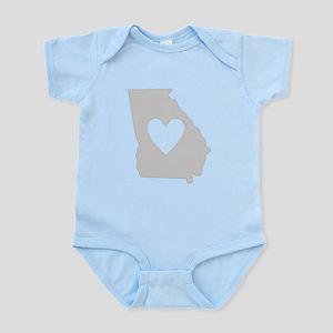 Heart Georgia Infant Bodysuit