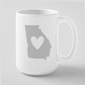 Heart Georgia Large Mug