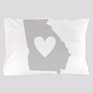 Heart Georgia Pillow Case