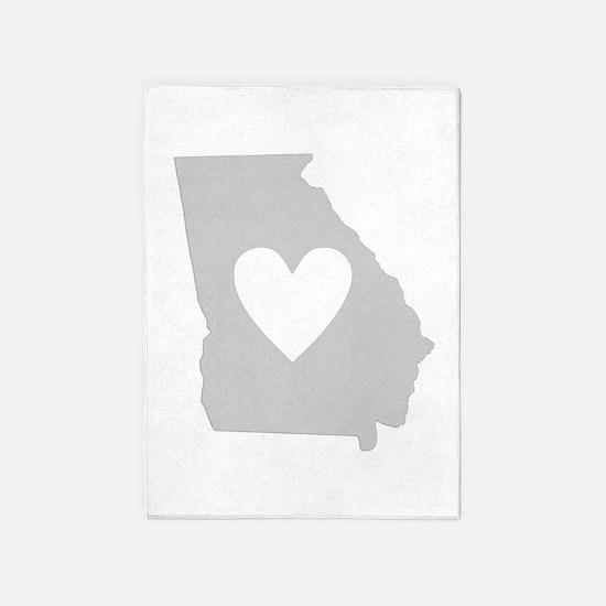 Heart Georgia 5'x7'Area Rug