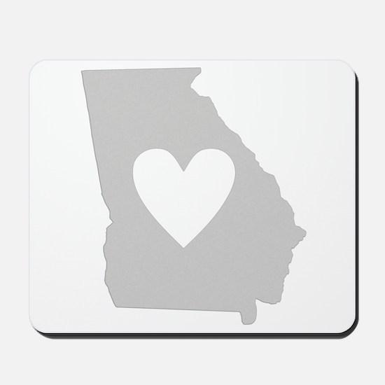 Heart Georgia Mousepad