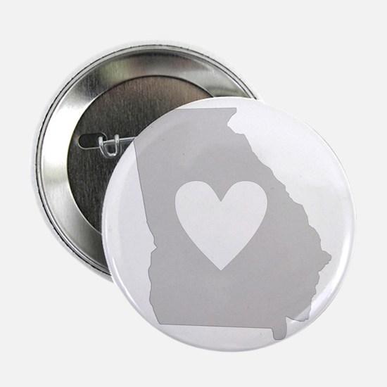 "Heart Georgia 2.25"" Button"
