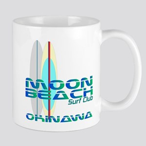 Moon Beach Surf Club Mug
