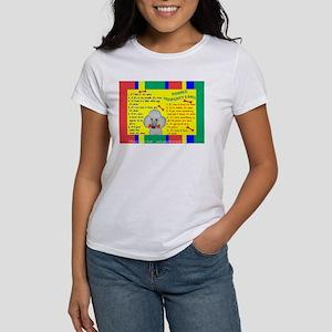 Poodle (White) Women's T-Shirt