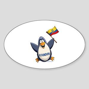 Ecuador Penguin Sticker