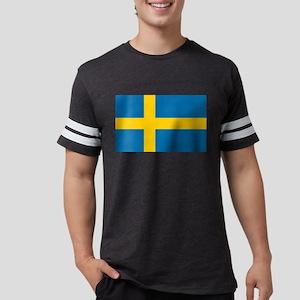 Flag of Sweden - Sveriges Flag Mens Football Shirt