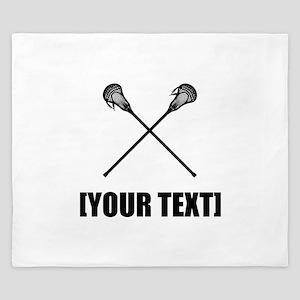 Lacrosse Personalize It! King Duvet