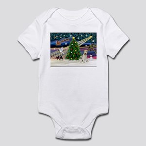 Xmas Magic & Wire Fox T3 Infant Bodysuit
