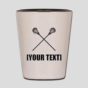 Lacrosse Personalize It! Shot Glass