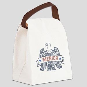 Merica Canvas Lunch Bag