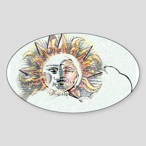 Spirit in the Light Oval Sticker