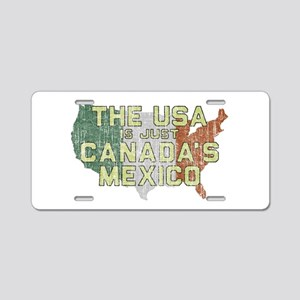 Canadas Mexico Aluminum License Plate