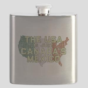 Canadas Mexico Flask