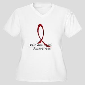Brain Aneurysm Awareness Plus Size T-Shirt