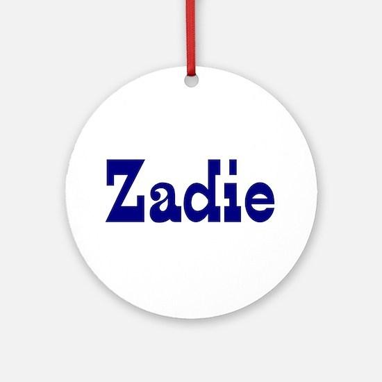 Zadie Ceramic Ornament