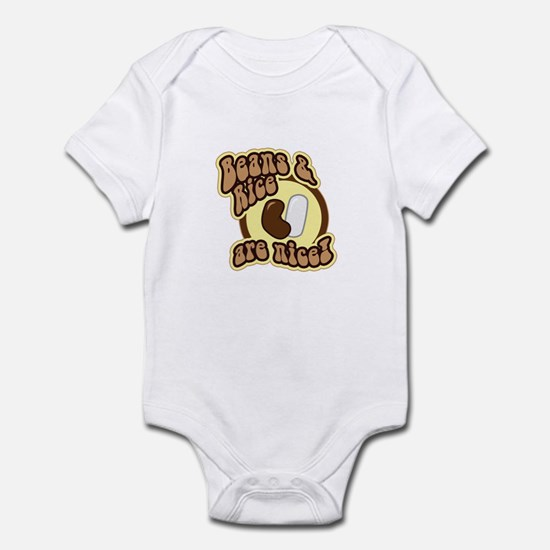 Beans and Rice Infant Bodysuit