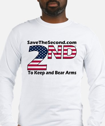 SaveTheSecond Long Sleeve T-Shirt (GREY OR WHITE)
