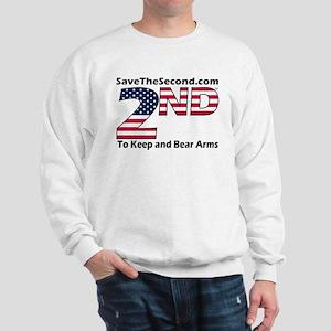 SaveTheSecond Sweatshirt (GREY OR WHITE)