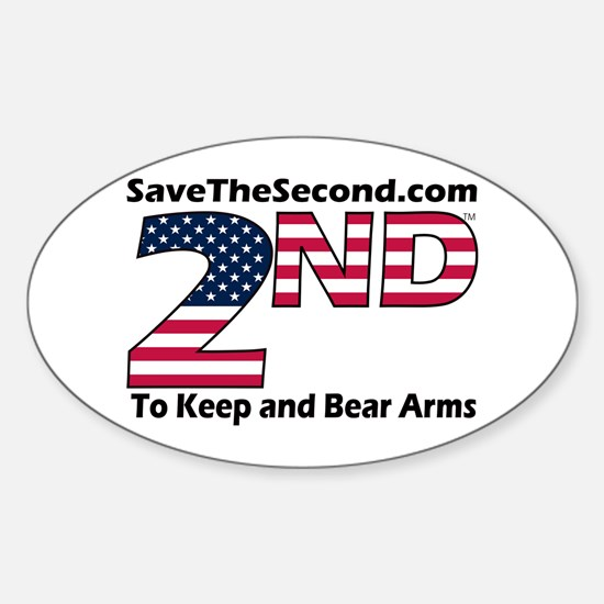 SaveTheSecond Oval Decal