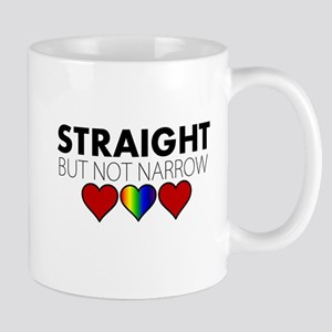 STRAIGHT but not narrow Mug