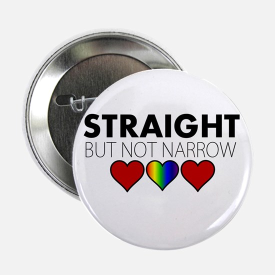 "STRAIGHT but not narrow 2.25"" Button"