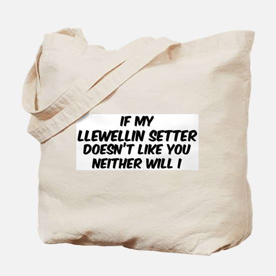 If my Llewellin Setter Tote Bag