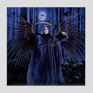 Sebelius Is Obama Care's Grim Reaper Tile Coaster