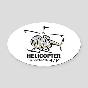 ultATVblwgr Oval Car Magnet