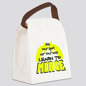 Merge2 Canvas Lunch Bag