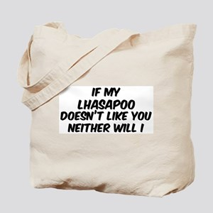 If my Lhasapoo Tote Bag