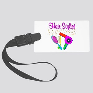 BEST STYLIST Large Luggage Tag