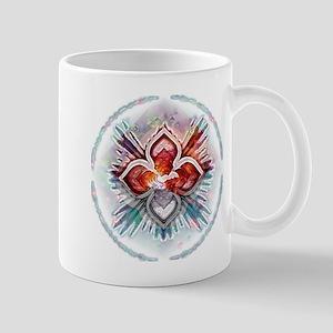 Crystal Cross Mug