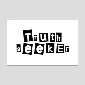 Truth Seeker Mini Poster Print