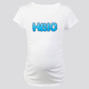 Head Bitch In Charge Maternity T-Shirt