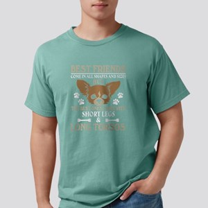Best Friends Come In All Mens Comfort Colors Shirt