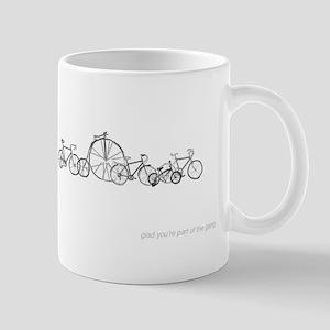 Bicycle Gang Mug