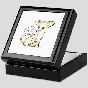 Tumbles Chihuahua Angel Keepsake Box